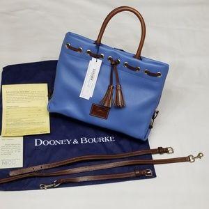 Dooney & Bourke Wakefield Tassel Tote Azure Blue